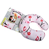 Baby Bucket neck support Travel Pillow And Seat Belt Covers handy item for prams,highchairs,carseats,carry cots (Pink)