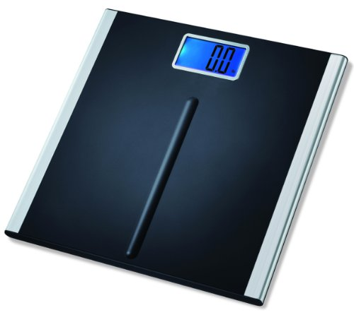 """EatSmart Precision Premium Digital Bathroom Scale with 3.5"""" LCD and """"Step-On"""" Technology"""