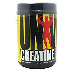 Creatine Powder, 100% Pure Creatine Monohydrate, 1000g, From Universal Nutrition