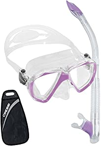Cressi Ranger Tao Combo, Clear/Lilac