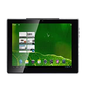 """Hanns SN97T41W Tablette tactile 9,7"""" (24,64 cm) ARM Cortex-A9 1,2 GHz 8 Go Android Jelly Bean 4.1.2 Wifi Argent"""
