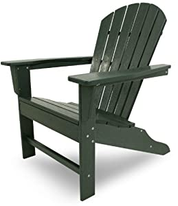 POLYWOOD SBA15GR South Beach Adirondack, Green