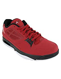 Nike Men's NIKE JORDAN FLIGHT 23 RST LOW BASKETBALL SHOES 13 (GYM RED/WHITE/BLACK)