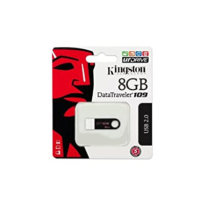 Kingston Data Traveller 8GB Hi-speed USB - Black from KIngston
