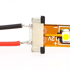 Ledjump Led Strip Light Connector 2 Conductor 8 Mm Ribbon