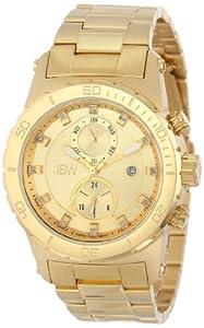 JBW Men's J6285A Multi-Function 12 Diamonds Metal Watch