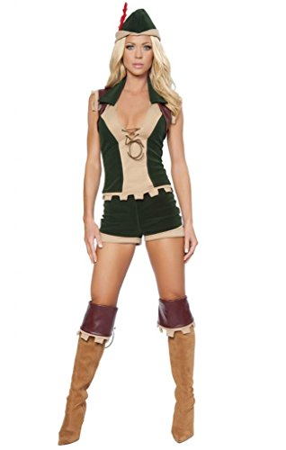 Sexy Robin Hood Girl Halloween Costume