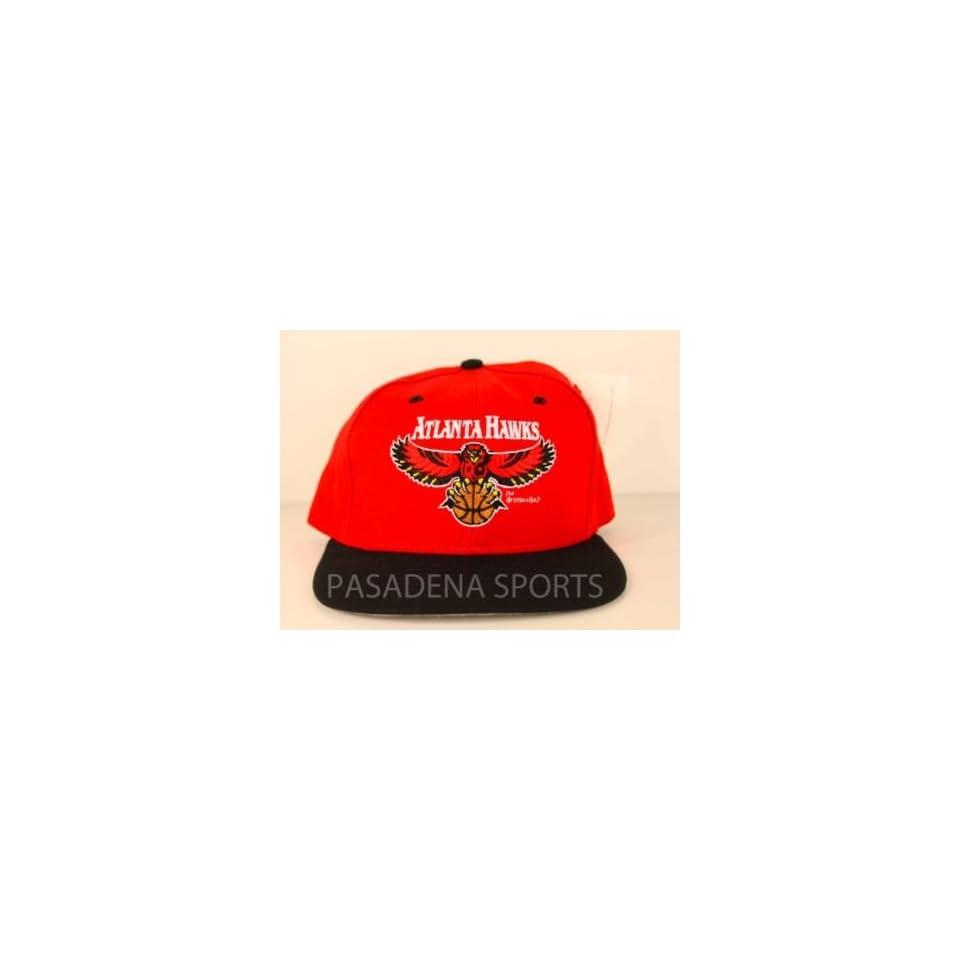 2863d532e8624 VINTAGE ATLANTA HAWKS SNAPBACK CAP NWT nba on PopScreen