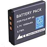 High Power Replacement Fuji NP50 NP-50A NP50A Battery for Fujifilm X10,KODAK V1273 ,Pentax Optio S10 etc Digital Camera