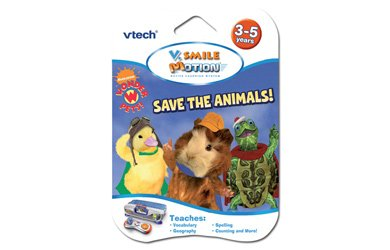 VTech V.Smile Motion Wonder Pets Save the Animals Learning Game - 1
