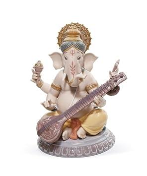 Lladró Veena Ganesha Figurine