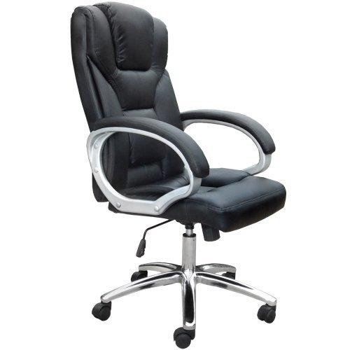 Poltrona ufficio ergonomica sedia ufficio girevole sedia for Sedia da ufficio amazon
