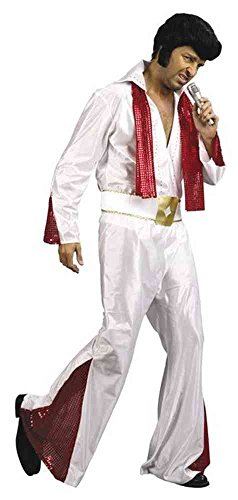 Patry-Partners 87316 Herren-Kostüm Rock n Roll Star, Einheitsgöße -Elvis-