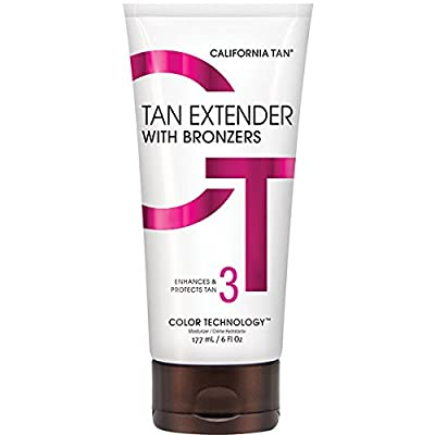 California Tan Extender with Bronzers, 6 Ounce