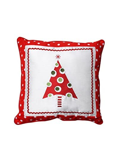 Pillow Perfect Framed Christmas Tree Throw Pillow