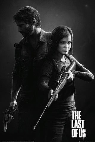 Last Of Us, the-Poster-Black and White Portrait + Poster a sorpresa