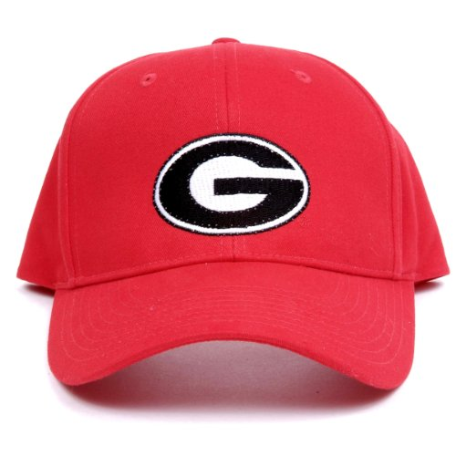 Ncaa Georgia Bulldogs Led Light-Up Logo Adjustable Hat