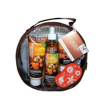 Calgon Brazilian Beauty Luxury Train Case Case Pack 3