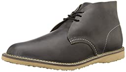 Red Wing Heritage Men\'s Weekender Chukka, Charcoal Rough/Tough, 8 D US