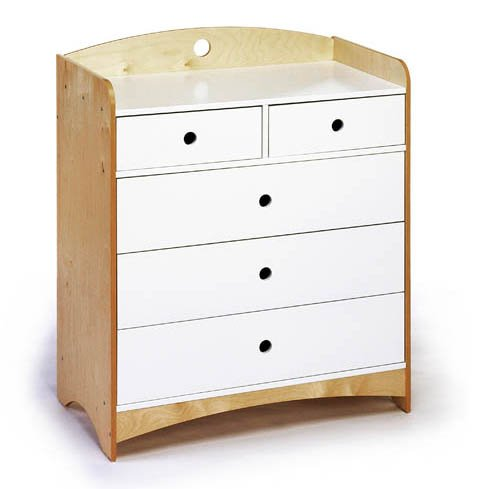 Cheap Offi Bebe 2 Kids Dresser with 5 Drawers (B001EE5XNU)