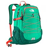 The North Face Women's Women's Borealis Billiard Green/Fiery Coral Backpack