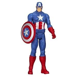 Marvel Avengers Titan Hero Series Captain America Action Figure
