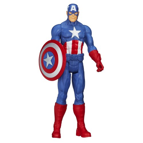 Marvel Avengers Titan Hero Series Captain America Action Figure