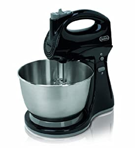 Sunbeam FPSBHS0302 250-Watt 5-Speed Hand and Stand Mixer Combo, Black
