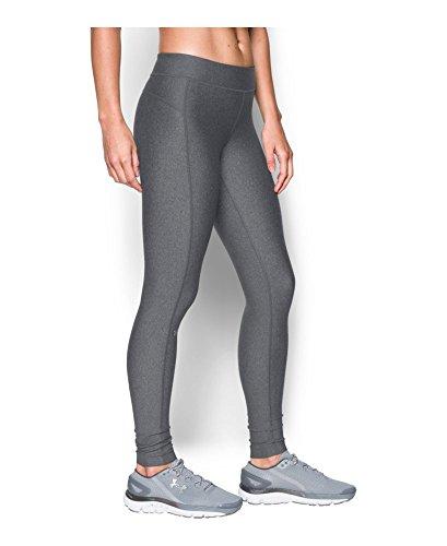 Under Armour Women's UA HeatGear Armour Legging L-S Carbon Heather
