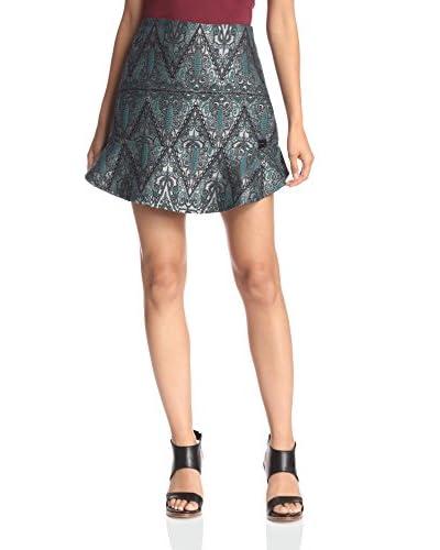 Lez a Lez Women's Jacquard Skirt