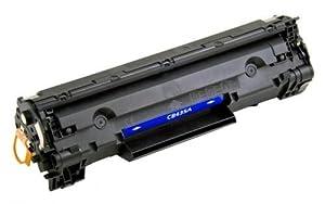 Compatible CB435A / CB436A (35A / 36A) / Canon 712 / 713 Black Toner Cartridge