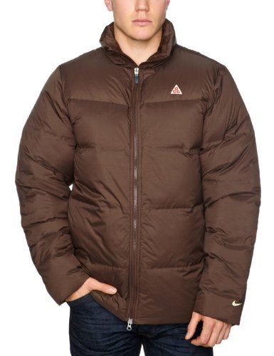 Nike Men's ACG No Sew Down Jacket - Brown, Small