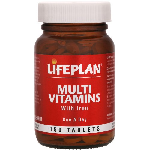 Lifeplan Multivitamins with Iron 150 Tablets