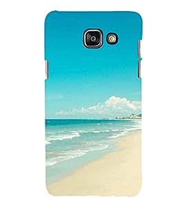 Printvisa Premium Back Cover Beautiful Seaside Scene Design For Samsung Galaxy A7 (2016)::Samsung Galaxy A7 (2016) Duos with dual-SIM card slots