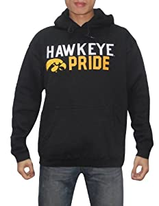 NCAA Iowa Hawkeyes Hawkeye Pride Mens Warm Athletic Pullover Hoodie by NCAA