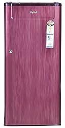 Whirlpool 205 Genius Cls Plus 4S Direct-cool Single-door Refrigerator (190 Ltrs, Wine Titanium)