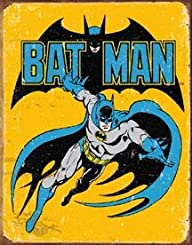 Batman Retro Tin Sign , 13×16 , 13×16