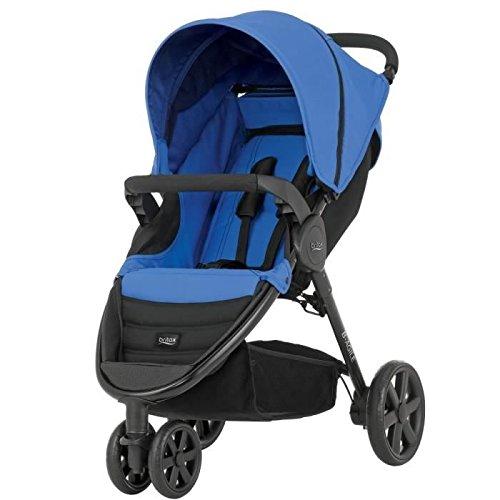 Britax-Romer 2000011748 B-Agile 3 Passeggino, Blu (Blue Sky)