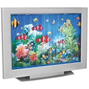 Tischleuchte Aquariumleuchte mit Laufband Maße (360x470mm)