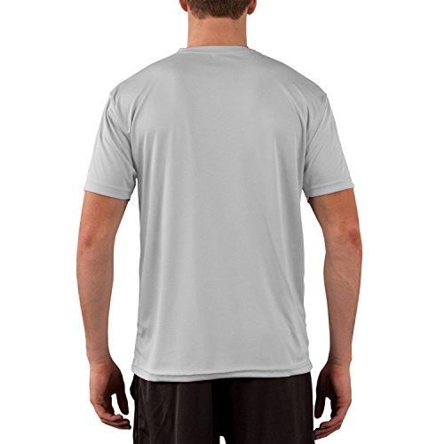 Vapor Apparel Men's Solar Performance UPF Short Sleeve T-Shirt XXX-Large Pearl Grey