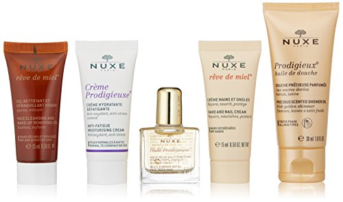 NUXE Travel Kit With 5 Deluxe Minis (Miel Hand Bag compare prices)