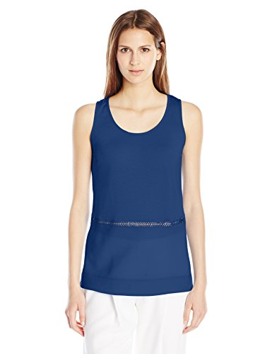 french-connection-womens-polly-plains-sleeveless-top-indian-ocean-small