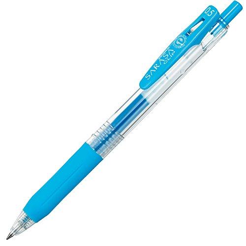 Zebra Sarasa JJ15 0.5mm Gel Ink Pen - Light Blue