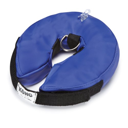 Inflatable Collar for Cats and Dogs - Blue, Small