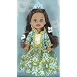 "Barbie Little Princess Kelly ~4"" Doll - Blue"