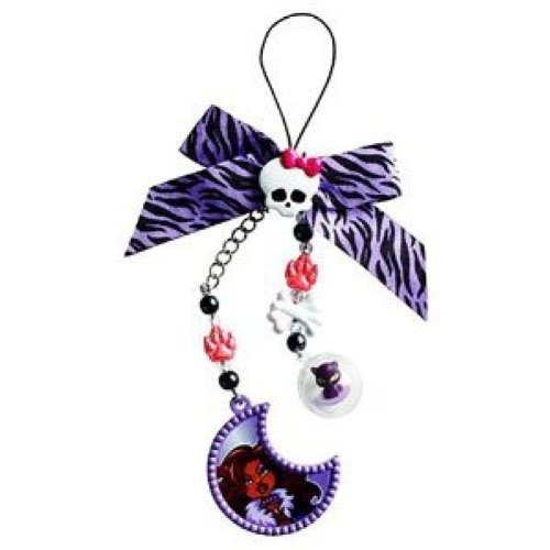 Monster High Clawdeen Wolf Creeperific Charms - Clawdeen Wolf & Crescent - 1