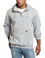 Carhartt Men's Heavyweight Hooded Zip Mock Sweatshirt