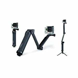 GoPro 3-Way Grip, Arm, Tripod