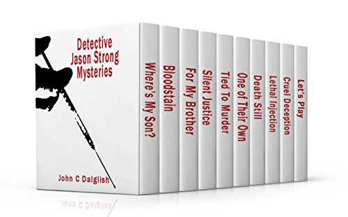 Detective Jason Strong Mysteries (1-10) CLEAN SUSPENSE MURDER MYSTERY BOXED SET
