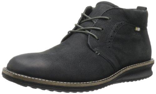 ECCO Men's Countoured Chukka Boot,Black,46 EU/12-12.5 M US